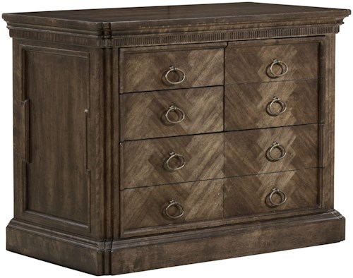 A.R.T. Furniture Inc American Chapter Saratoga Combo File Cabinet with Drop-Front Drawer