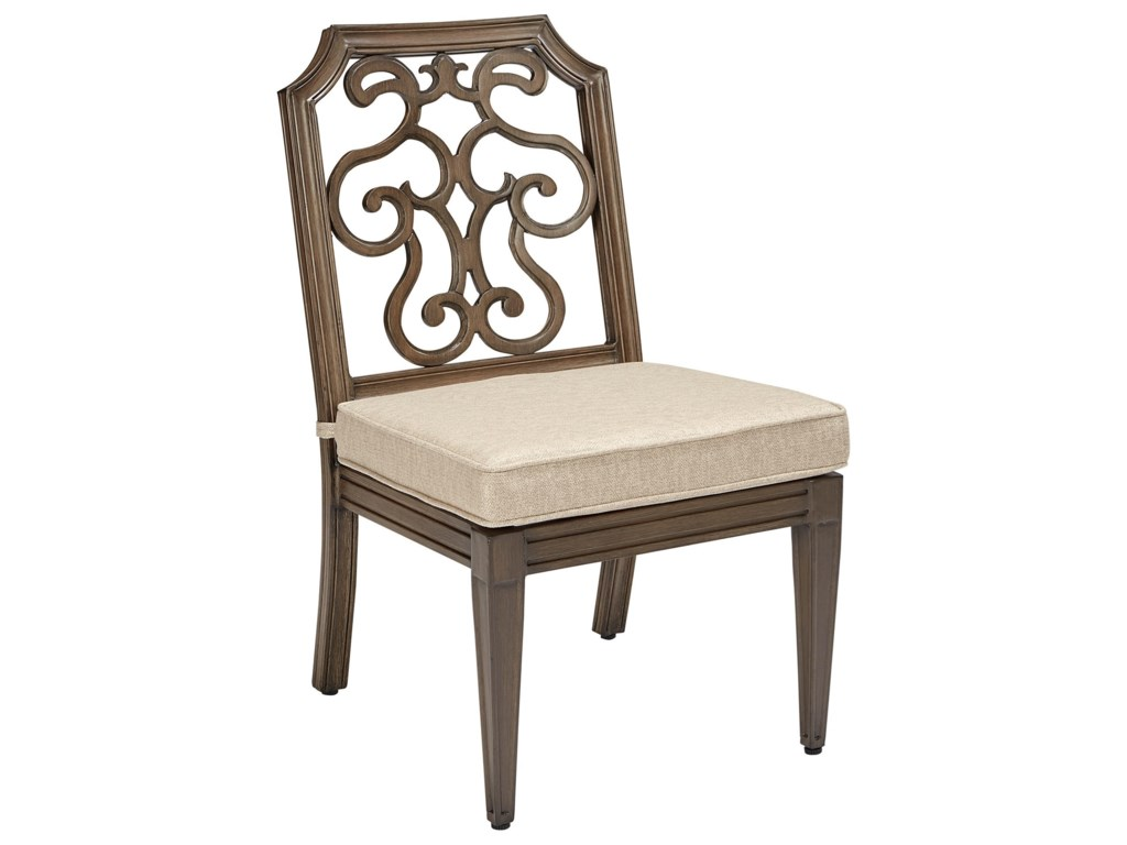 A.R.T. Furniture Inc Arch Salvage OutdoorGabrielle Armless Dining Chair