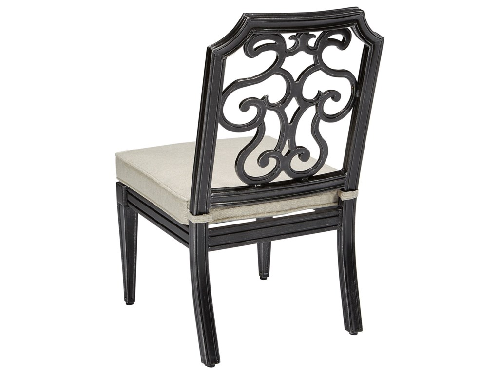 The Great Outdoors Arch Salvage OutdoorGabrielle Armless Dining Chair