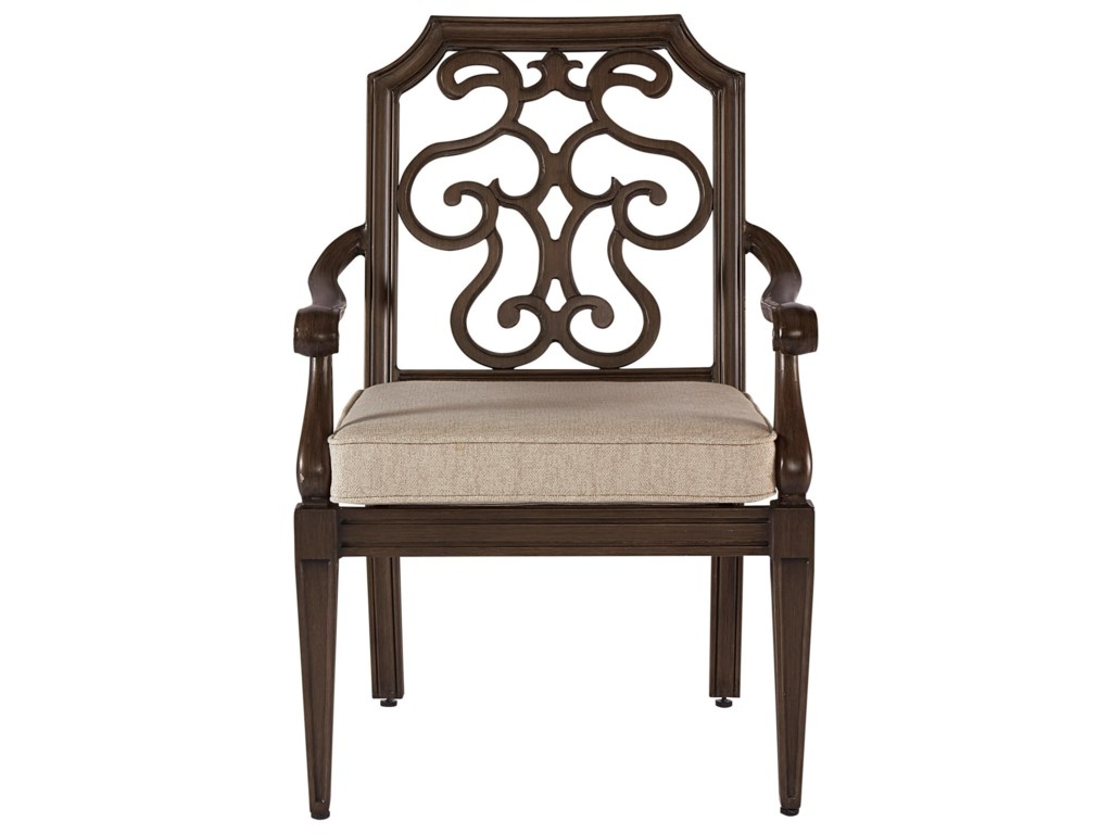 The Great Outdoors Arch Salvage OutdoorGabrielle Dining Chair