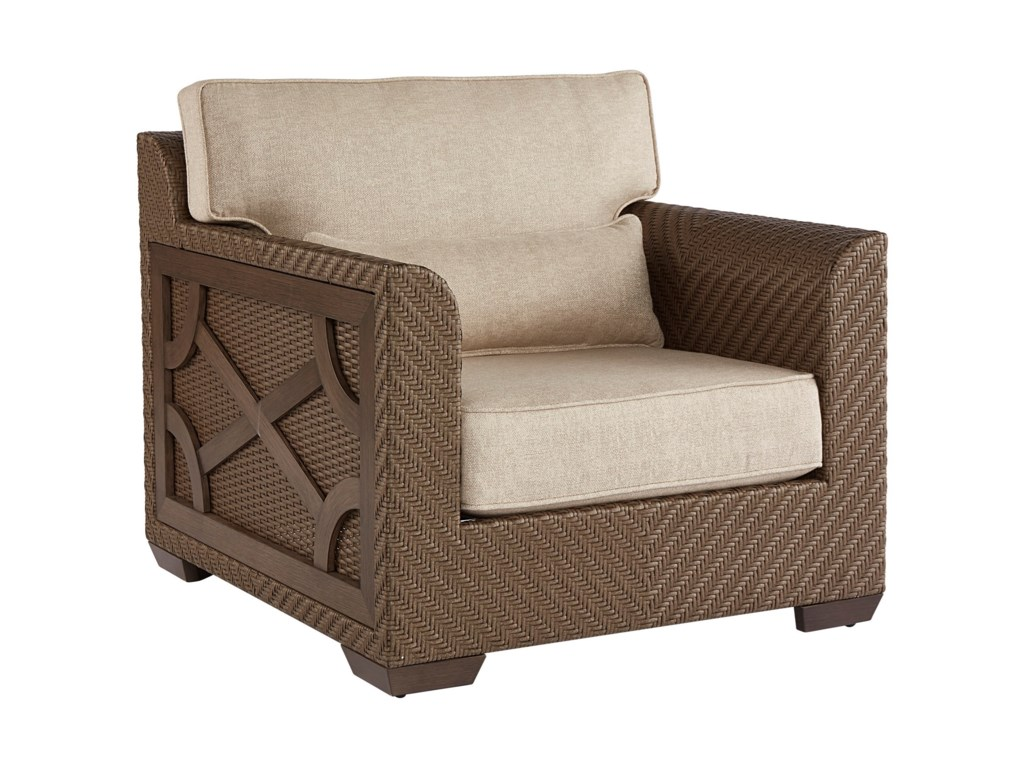 A.R.T. Furniture Inc Arch Salvage OutdoorFlorence Wicker Club Chair
