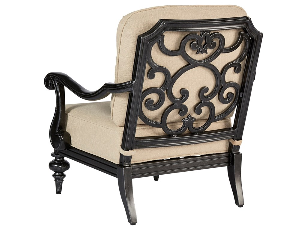 The Great Outdoors Arch Salvage OutdoorCannes Club Chair