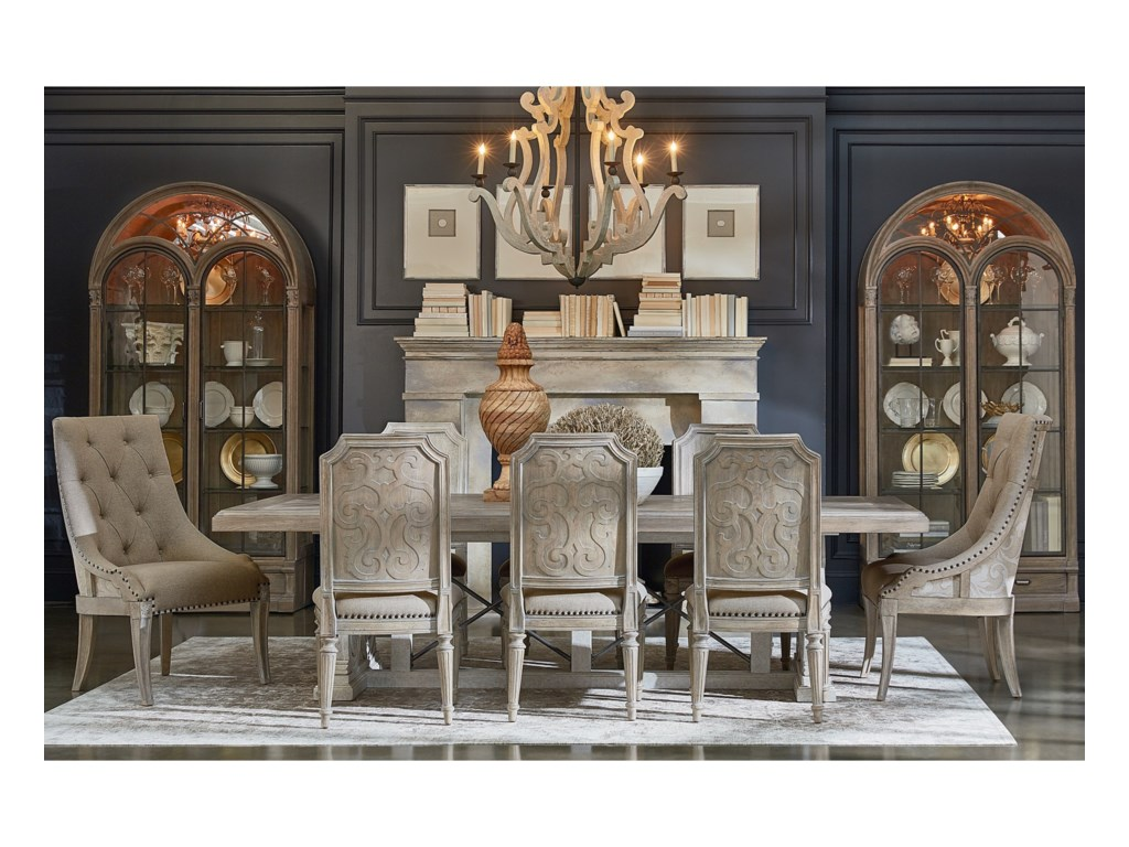 A.R.T. Furniture Inc Arch SalvageFormal Dining Room Group