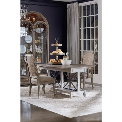 A r t furniture inc arch salvage casual dining room group for A r t dining room furniture