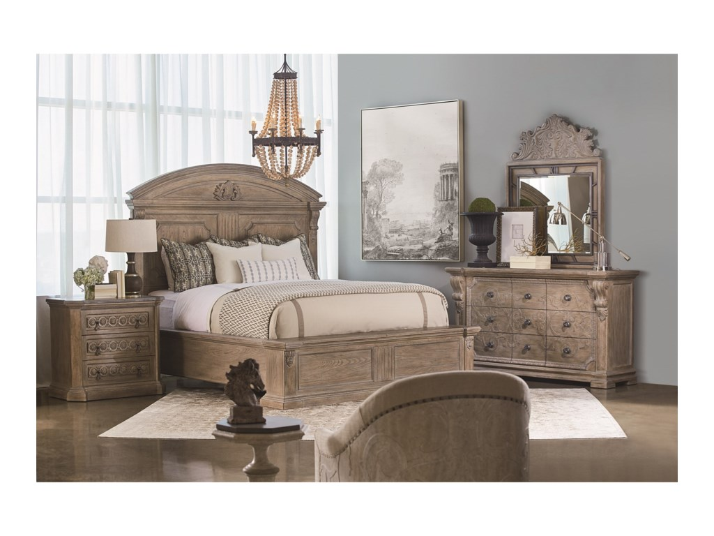 The Great Outdoors Arch SalvageCalifornia King Chambers Panel Bed
