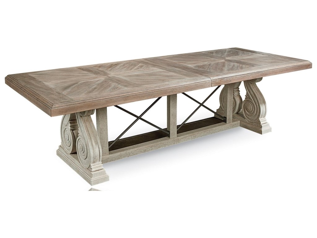 The Great Outdoors Arch Salvage9-Piece Pearce Dining Table Set