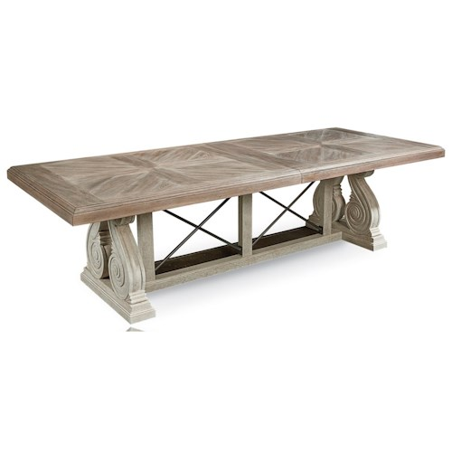 A.R.T. Furniture Inc Arch Salvage Pearce Dining Table