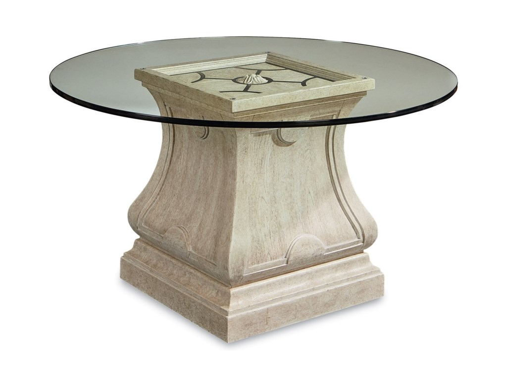 A.R.T. Furniture Inc Arch SalvageLeoni Round Dining Table with 54