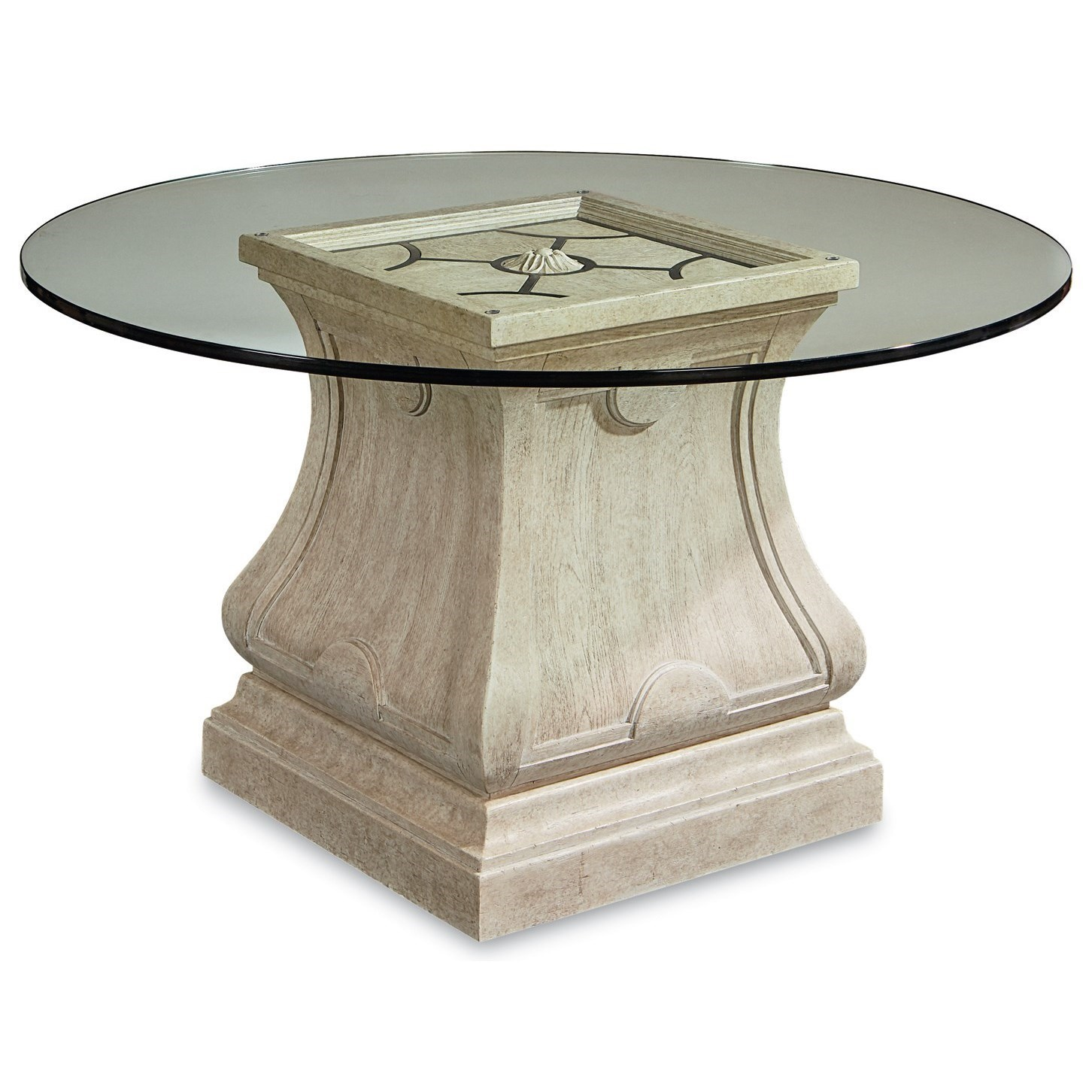 A.R.T. Furniture Inc Arch SalvageLeoni Round Dining Table With 54 ...