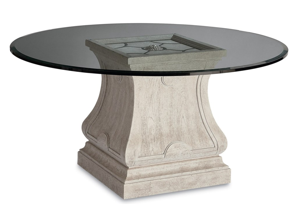 Compositions Arch SalvageLeoni Round Dining Table with 60