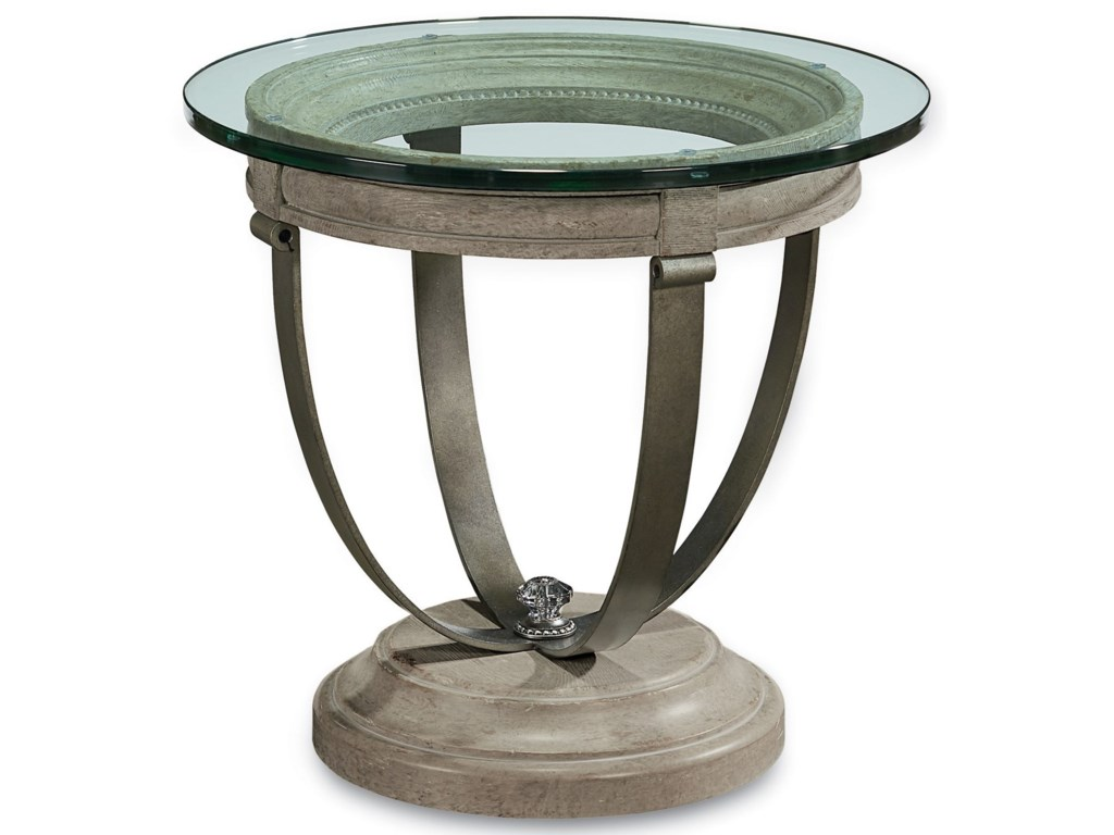 The Great Outdoors Arch SalvageMoss Lamp Table