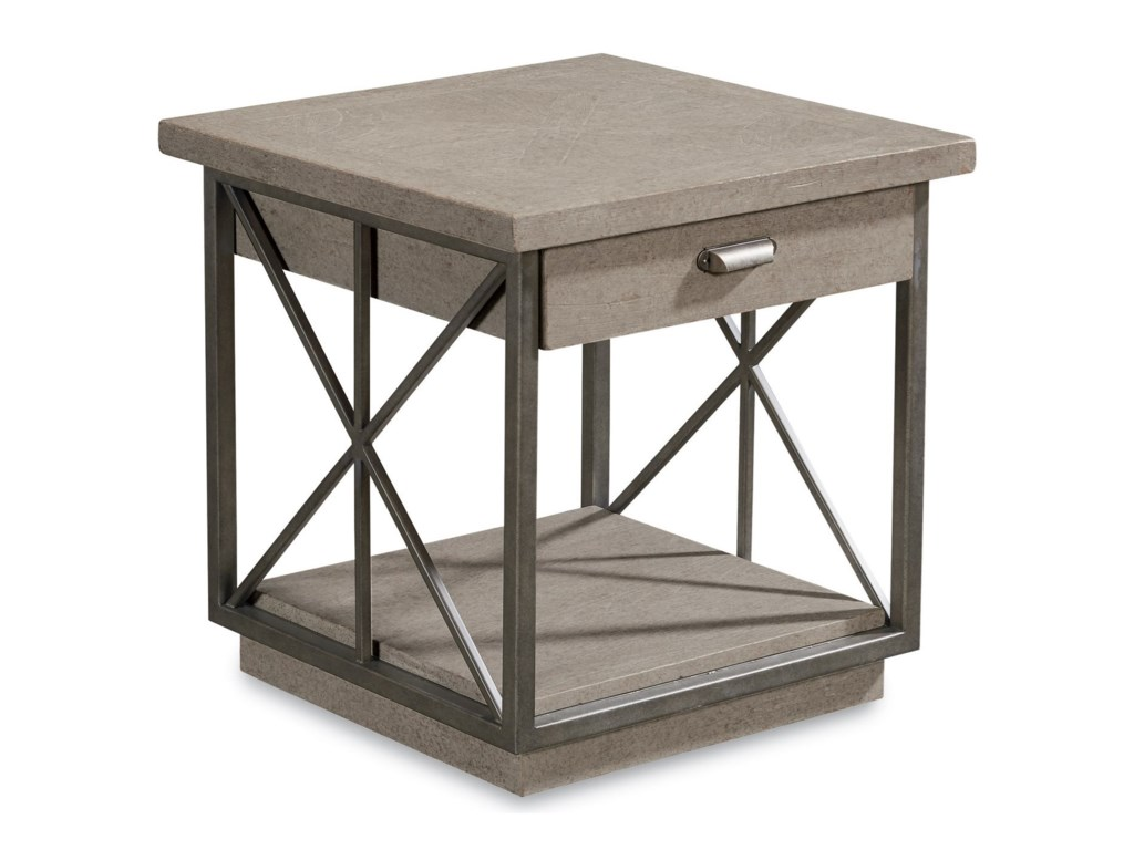 The Great Outdoors Arch SalvageBurton End Table