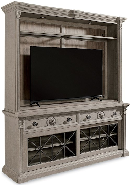 A.R.T. Furniture Inc Arch Salvage Townley Entertainment Center ...