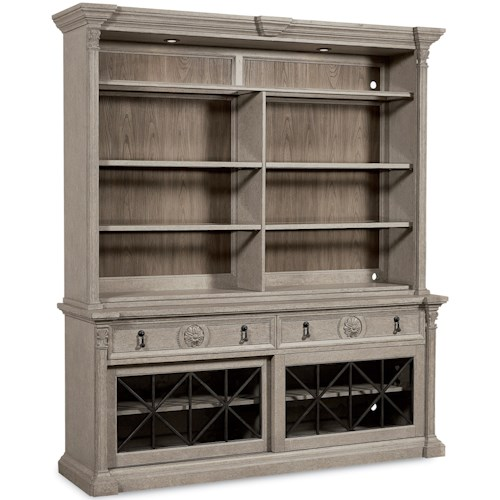 Arch Salvage Townley Entertainment Center by A R T  Furniture Inc at  Boulevard Home Furnishings