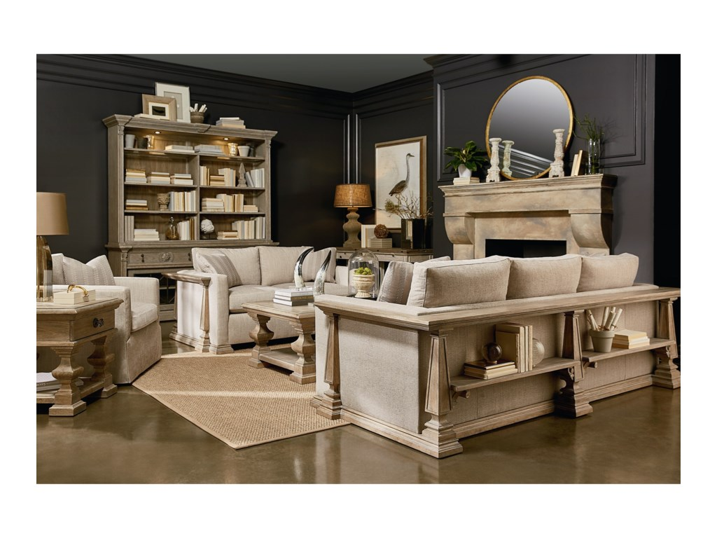 The Great Outdoors Arch SalvageStationary Living Room Group