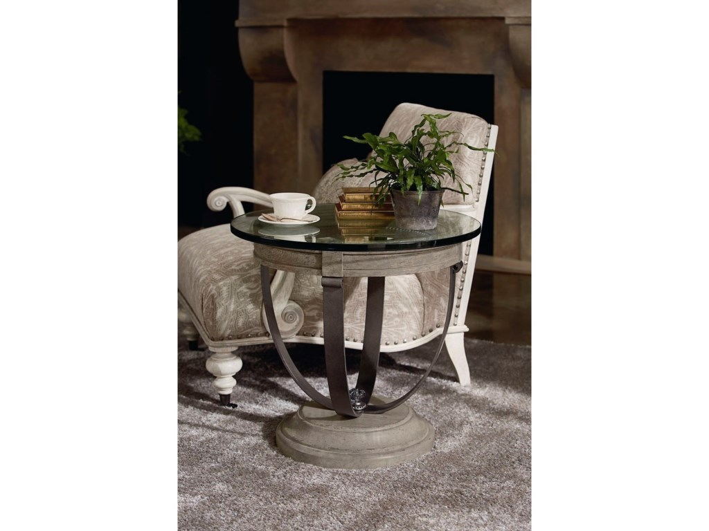 The Great Outdoors Arch SalvageCrane Accent Chair