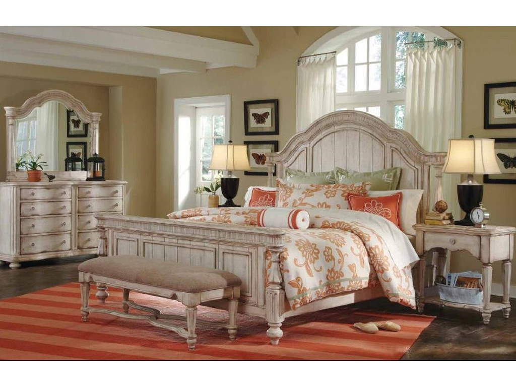 A.R.T. Furniture Inc Belmar IIQueen Panel Bed