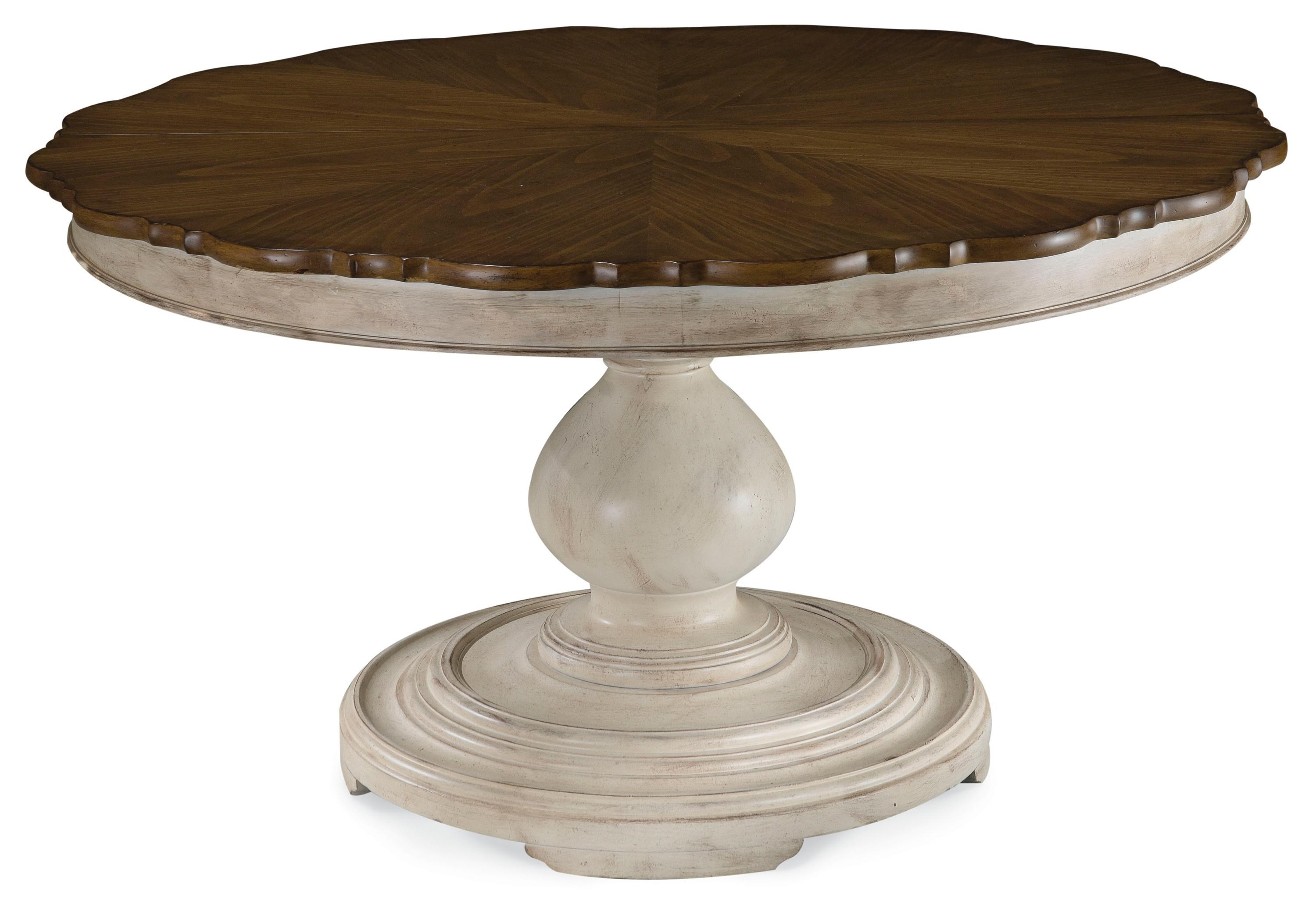 A.R.T. Furniture Inc Belmar II Two Tone Round Dining Table Top And Base    Zaku0027s Fine Furniture   Dining Tables