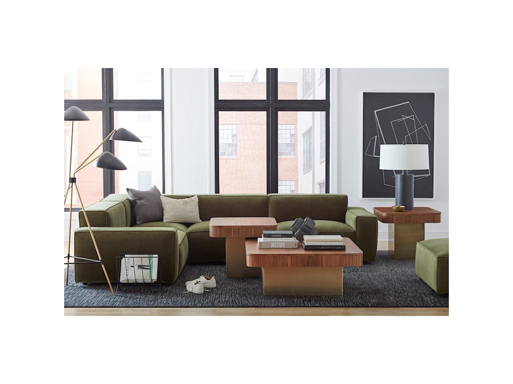 A.R.T. Furniture Inc Bobby Berk UpholsteryOlafur Ottoman