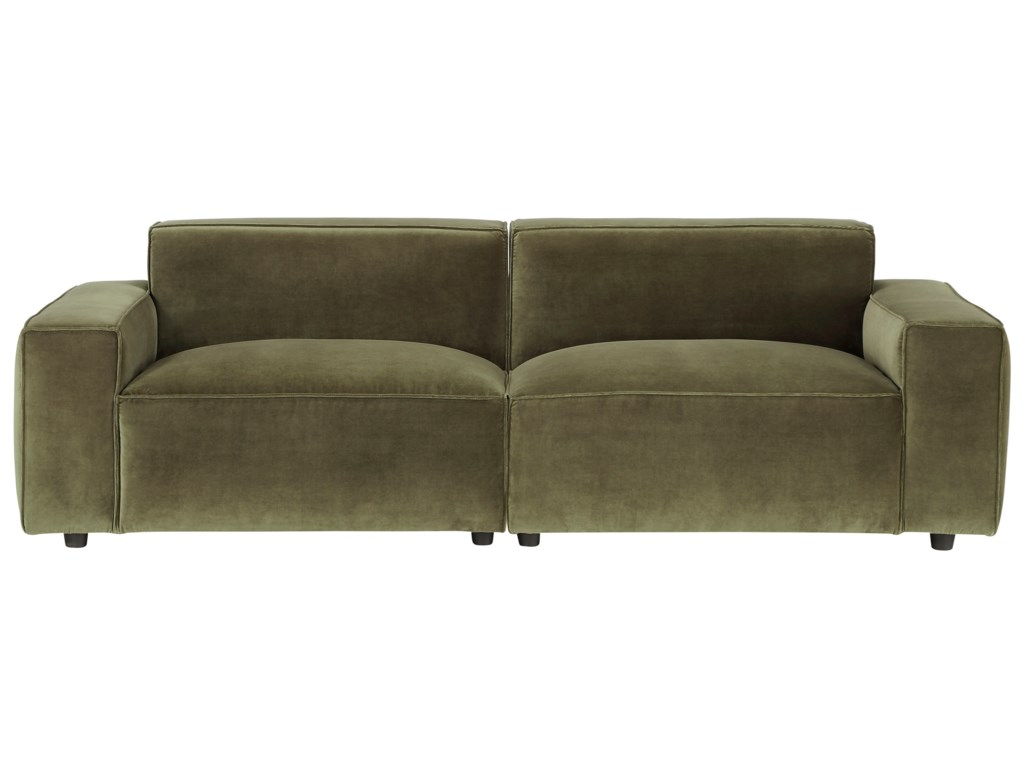 A.R.T. Furniture Inc Bobby Berk UpholsteryOlafur 2pc Modular Loveseat Sectional