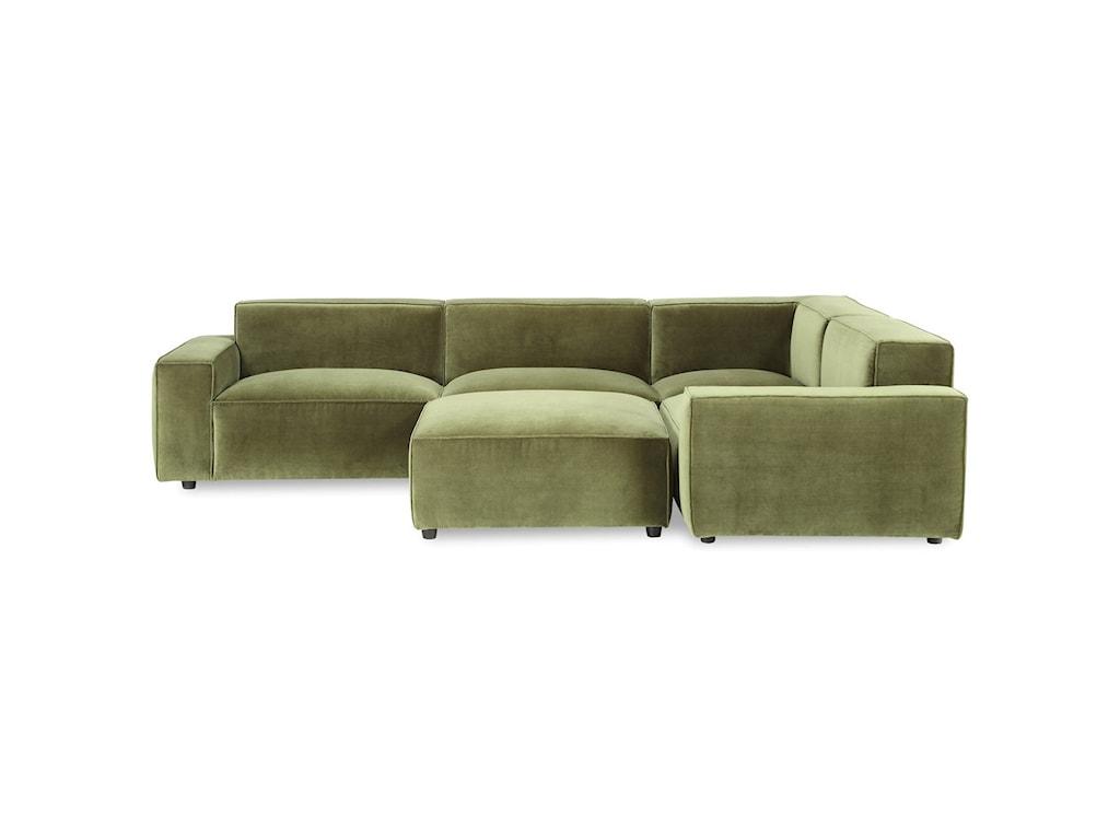 A.R.T. Furniture Inc Bobby Berk UpholsteryOlafur 5pc Modular Sectional