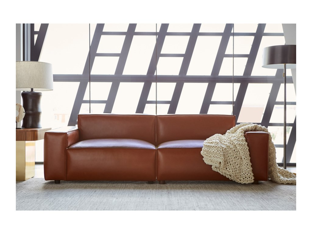 A.R.T. Furniture Inc Bobby Berk UpholsteryOlafur 2pc Modular Loveseat Sectional