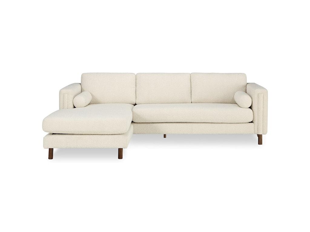 A.R.T. Furniture Inc Bobby Berk UpholsteryBi-Sectional Sofa 103in & Ottoman