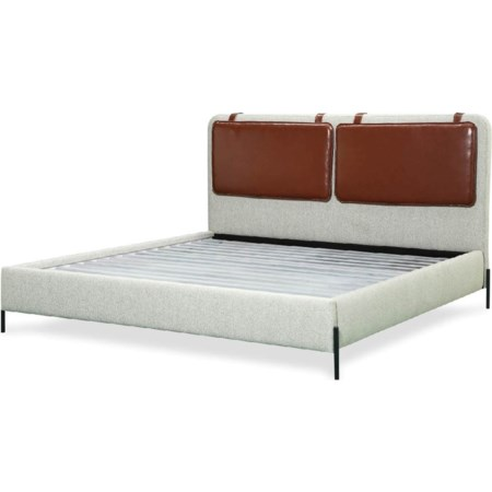 Queen Kirkeby Upholstered Bed