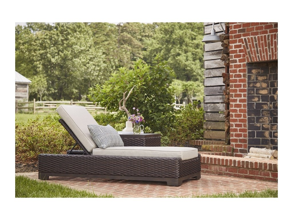 The Great Outdoors Brannon OutdoorChaise Lounge
