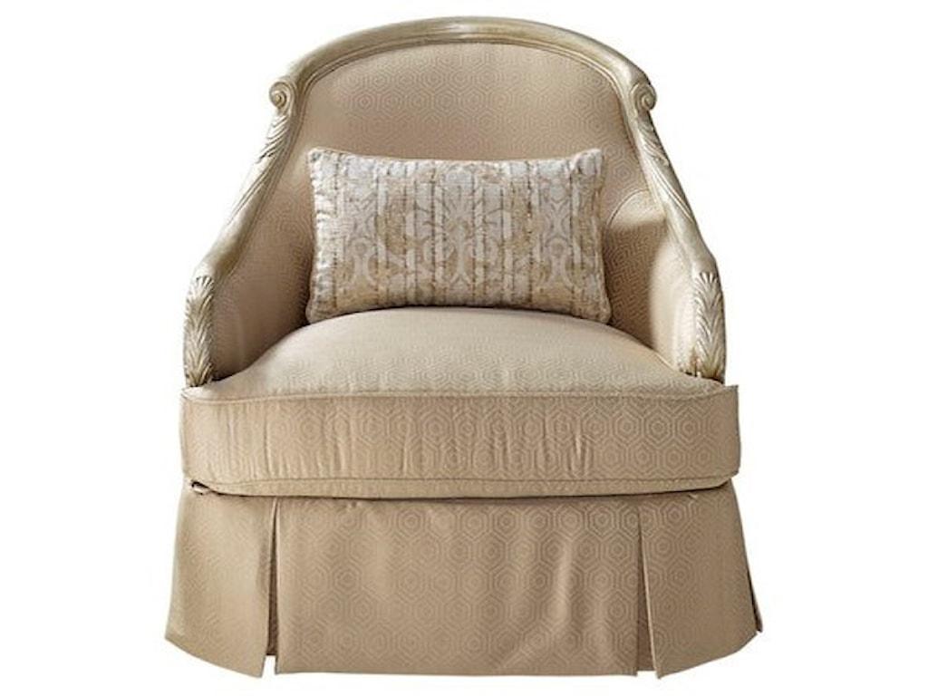 The Great Outdoors Chamberlain Swivel Chair