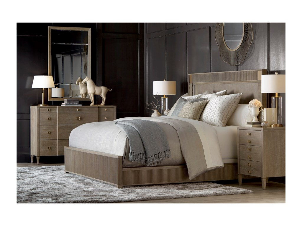 Compositions CityscapesQueen Hudson Panel Bed