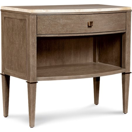 Ellis Leg Nightstand