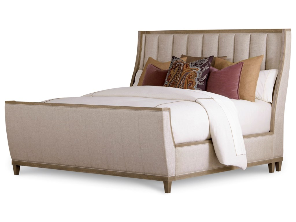 The Great Outdoors CityscapesCal King Chelsea Uph. Shelter Sleigh Bed