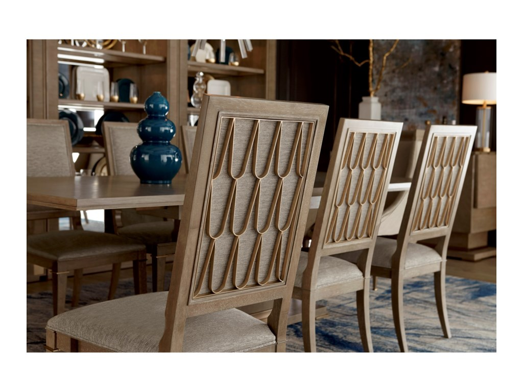 A.R.T. Furniture Inc Cityscapes9-Piece Bedford Rectangular Dining Table Set