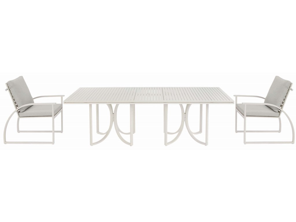 A.R.T. Furniture Inc Cityscapes OutdoorEmpire Slat Top Rect. Dining Table