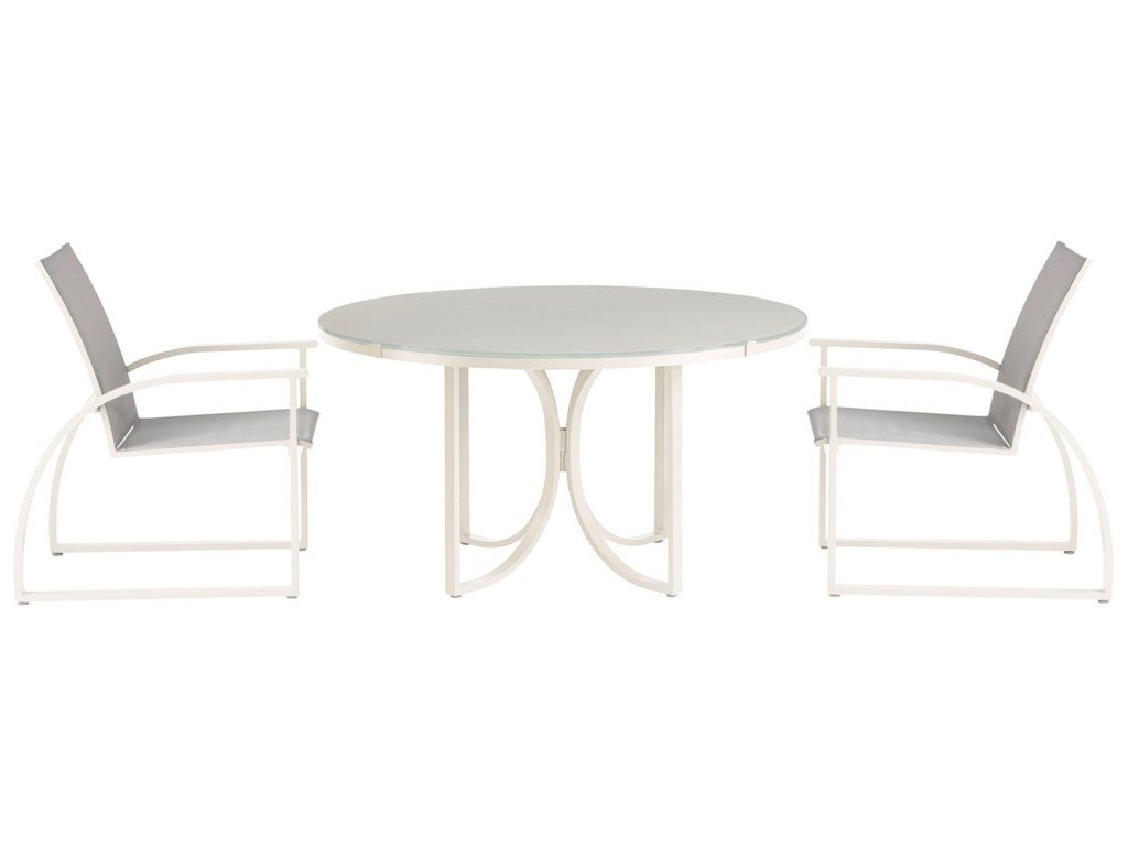 A.R.T. Furniture Inc Cityscapes Outdoor3-Piece Outdoor Dining Set