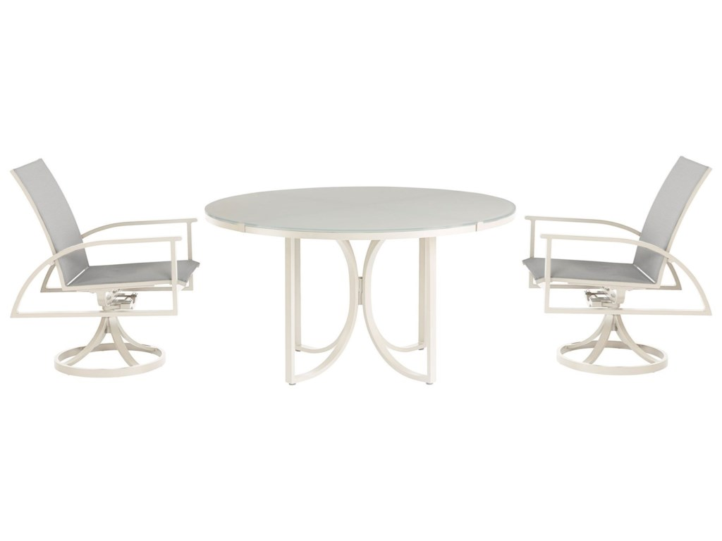 The Great Outdoors Cityscapes Outdoor3-Piece Outdoor Dining Set