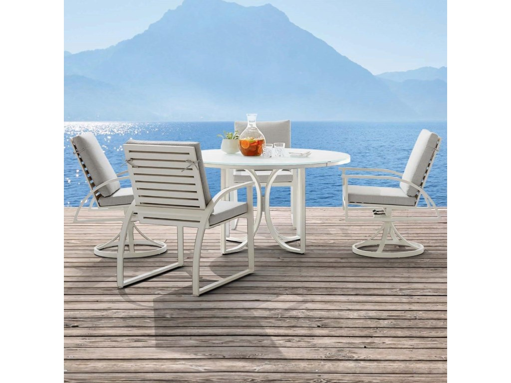 The Great Outdoors Cityscapes Outdoor5-Piece Outdoor Dining Set