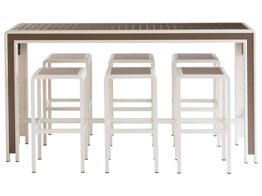 Art Furniture Inc Cityscapes Outdoor 932234 1250 7 Piece Chrysler