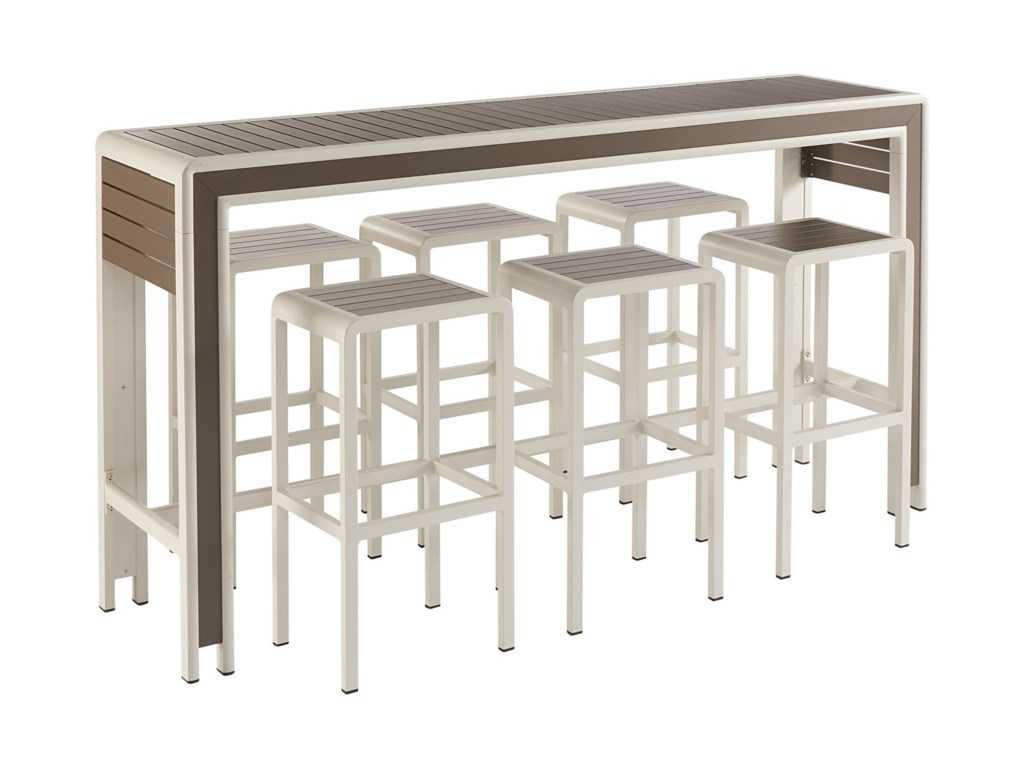 The Great Outdoors Cityscapes Outdoor7-Piece Chrysler Bar Set