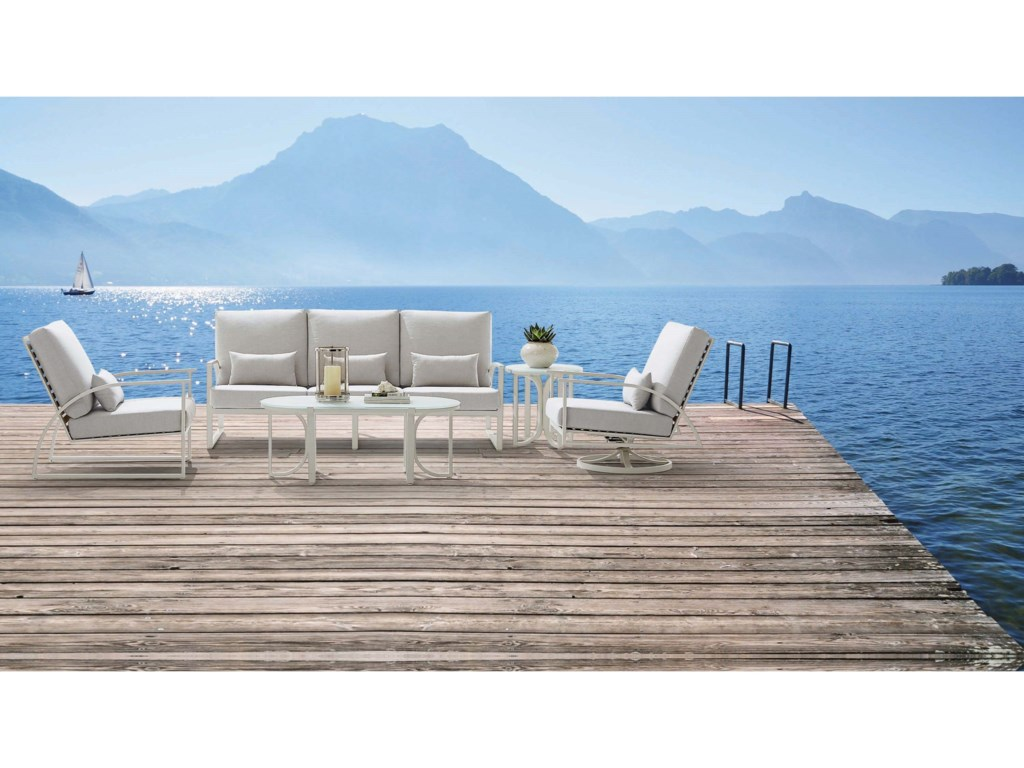 The Great Outdoors Cityscapes OutdoorParker Sofa