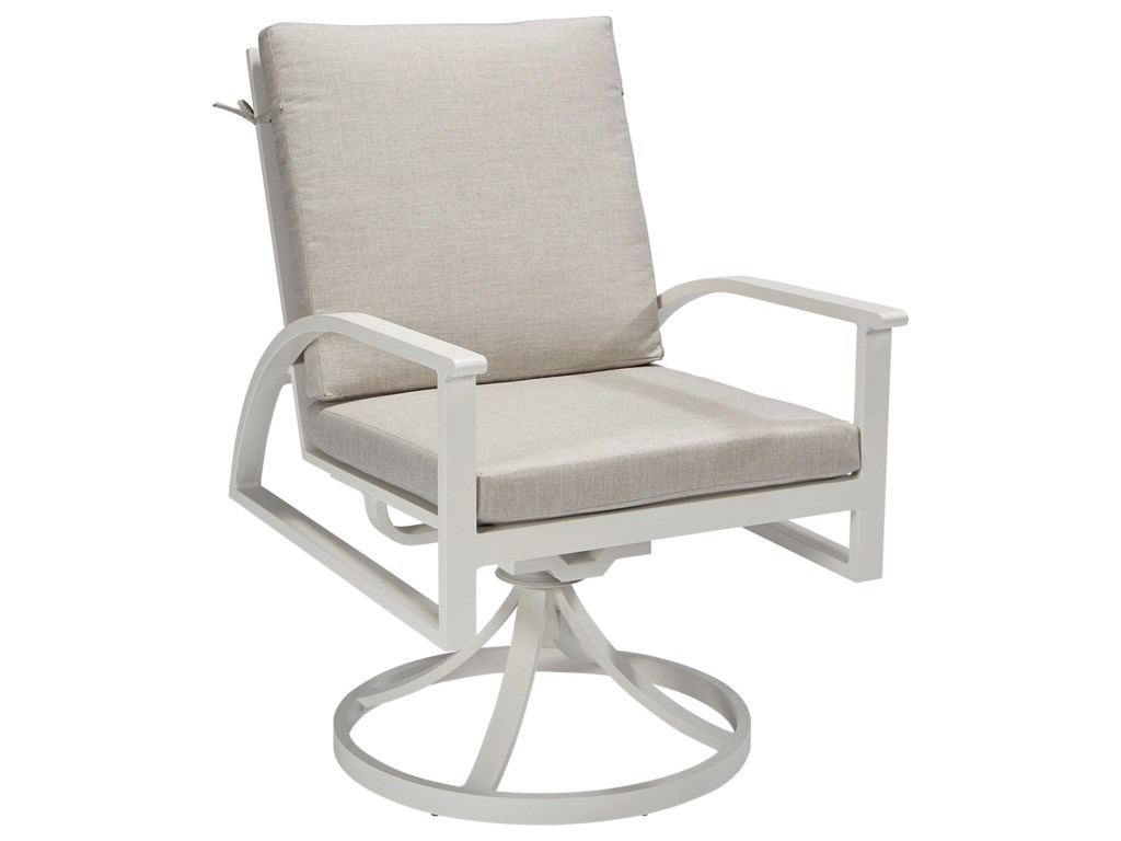 A.R.T. Furniture Inc Cityscapes OutdoorClaidon Cushion Swivel Dining Rocker