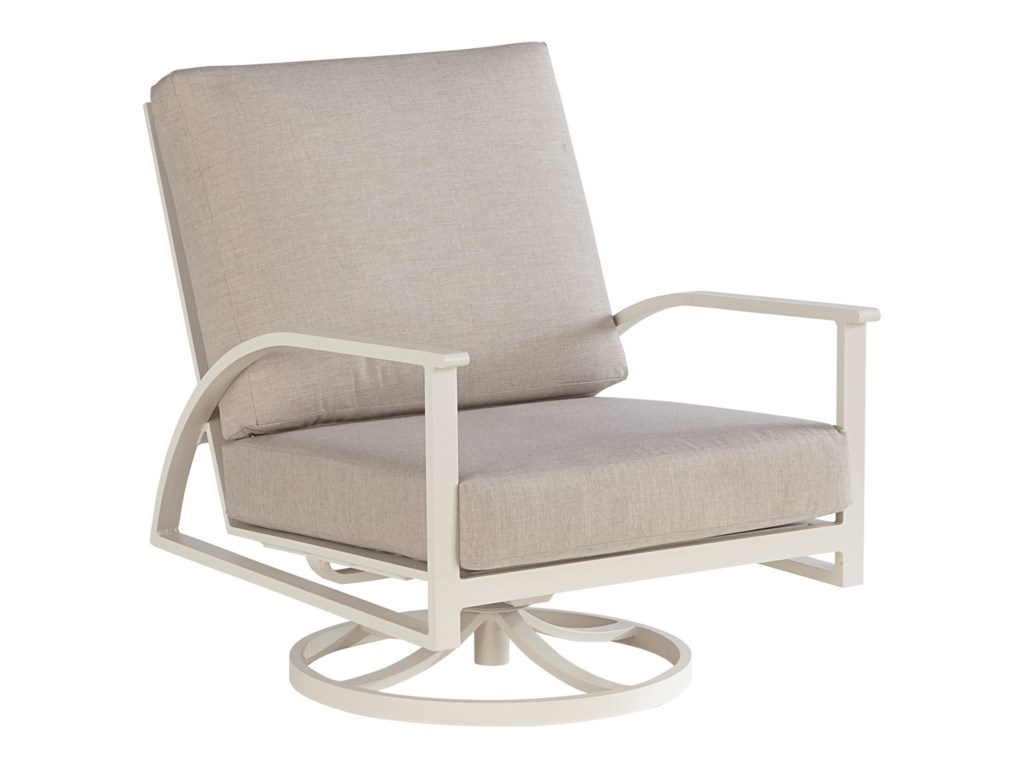 A.R.T. Furniture Inc Cityscapes OutdoorParker Swivel Rocking Club Chair