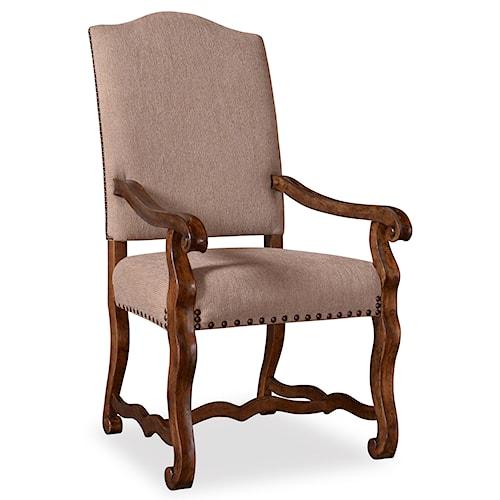 Belfort Signature Belle Haven Harvest Upholstered Arm Chair