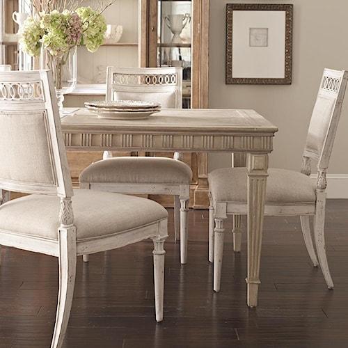 Belfort Signature Belle Haven Jefferson Leg Dining Table