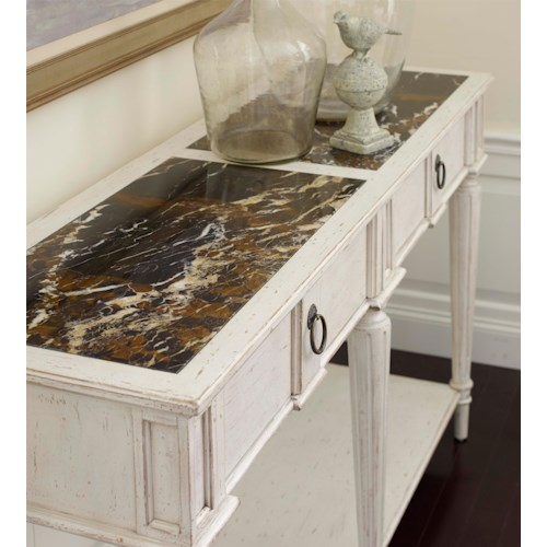 Belfort Signature Belle Haven Carlyle Sideboard with Marble Top