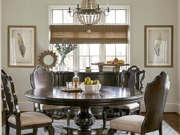 Markor Furniture Continental Casual Dining Room Group