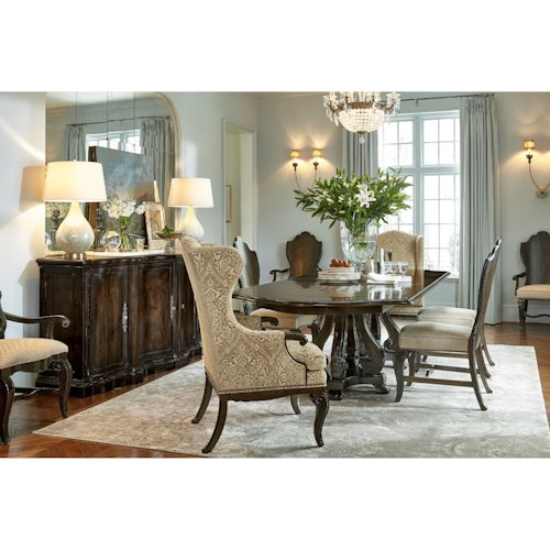 Markor Furniture Continental Formal Dining Room Group