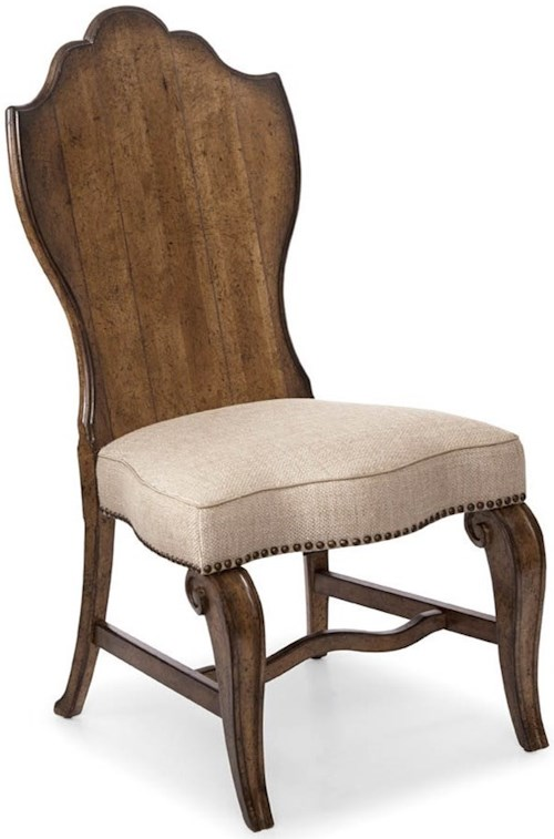 A.R.T. Furniture Inc Continental Traditional Wood-Back Side Chair