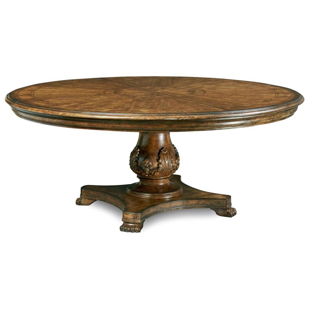 Art Furniture Inc Continental Traditional 66 Round Dining Table